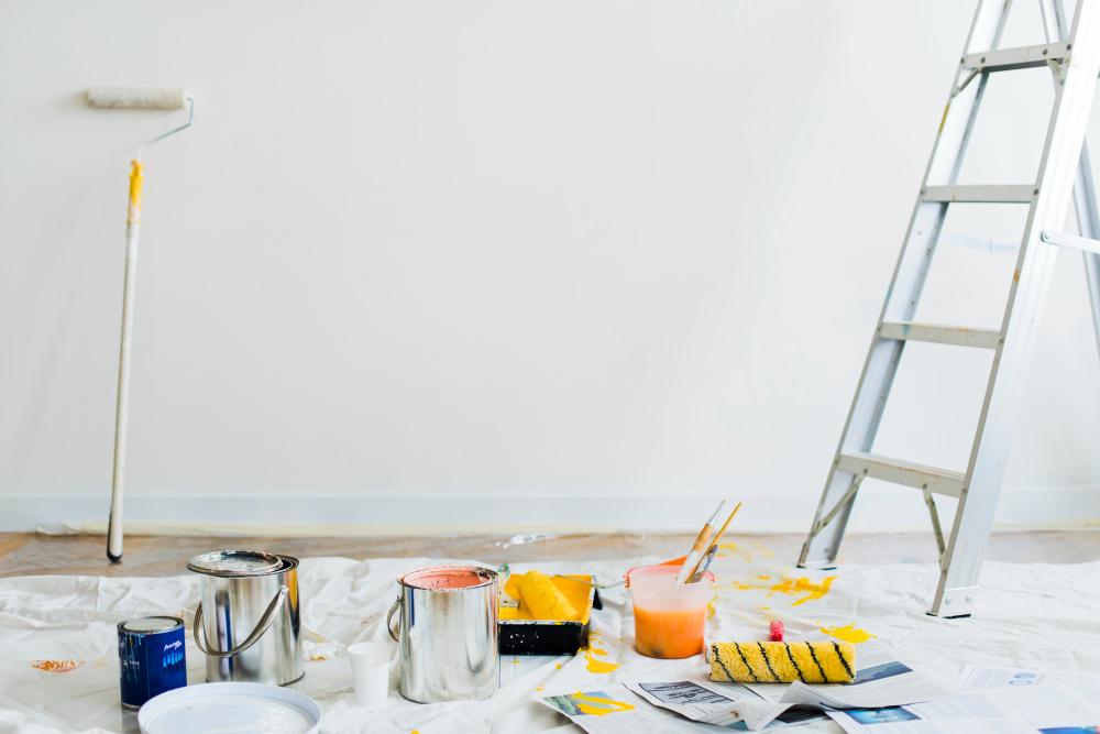buckets-of-paint-on-the-floor
